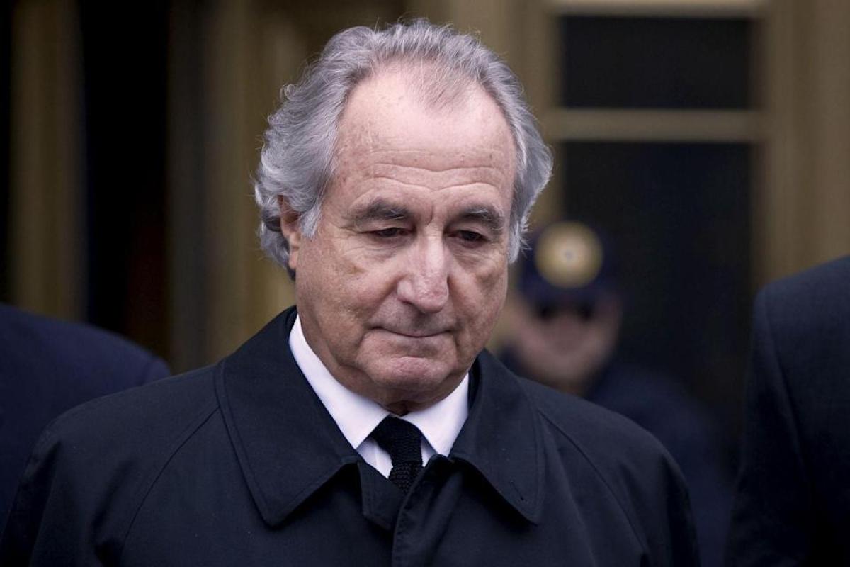 Ponzi schemer Bernie Madoff dies in prison New York