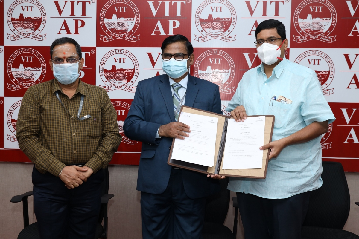 VIT-AP School Of Business inks MoU with Master Minds
