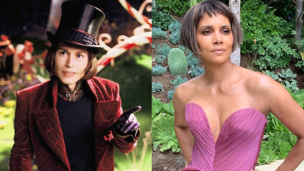Halle Berry laughs off on joke about her 'Willy Wonka' hair at Oscars 2021
