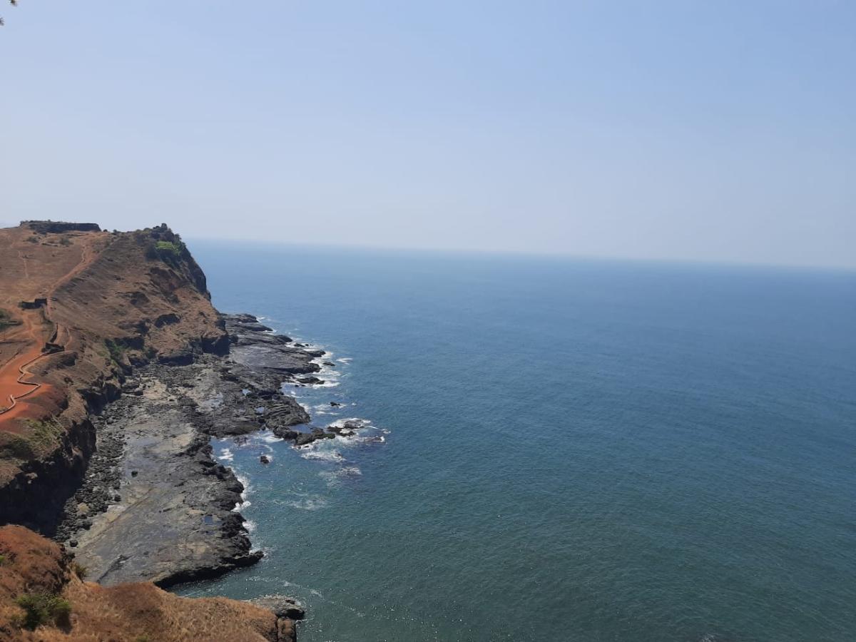 View from Ratnadurga fort, Ratnagiri
