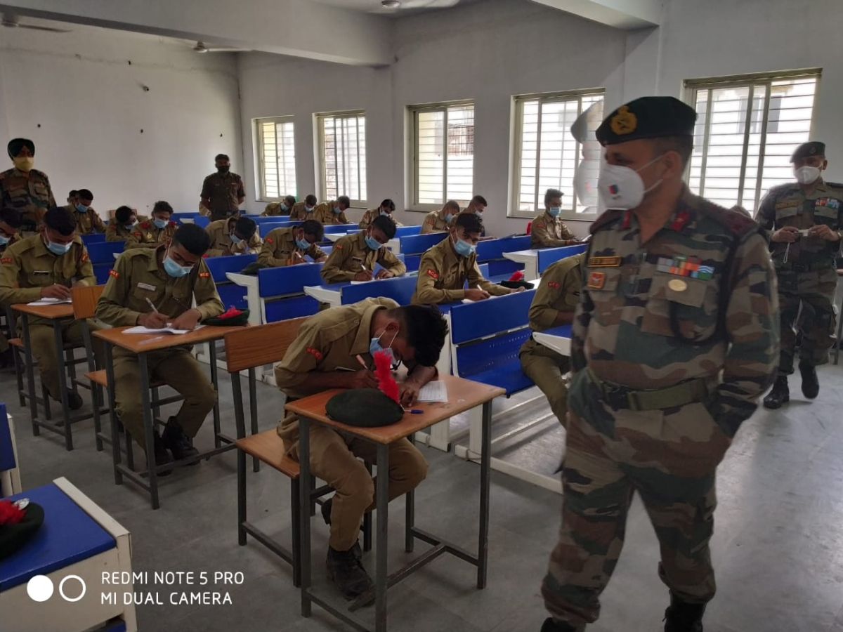 NCC written exam in Indore on Friday