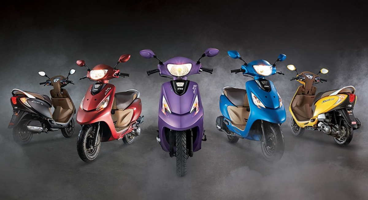 TVS Motor Company registers sales of 238,983 units in April