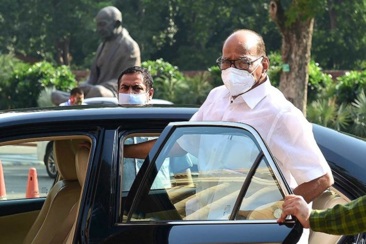 Mumbai: Sharad Pawar undergoes medical procedure to remove mouth ulcer