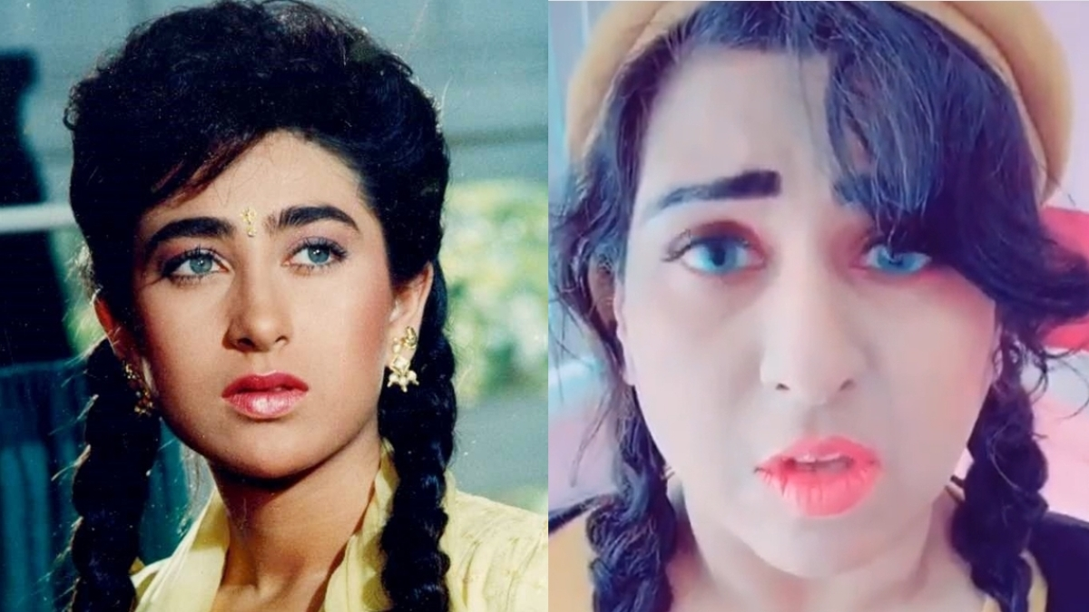 Karisma Kapoor's doppelganger is making waves on social media for her uncanny resemblance