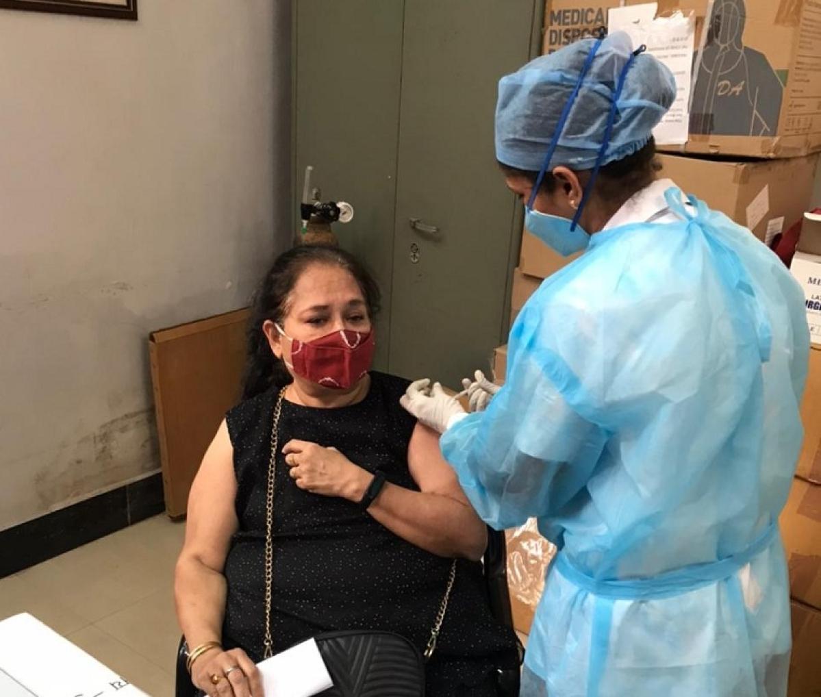 Vaccination drive for senior citizens
