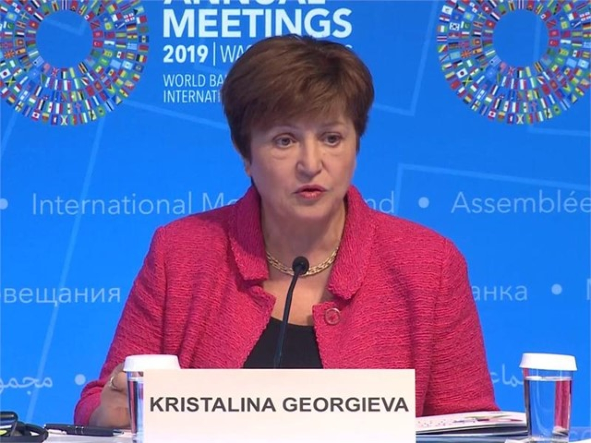 Recovery is underway after worst global recession since World War II: IMF Managing Director Christine Georgieva