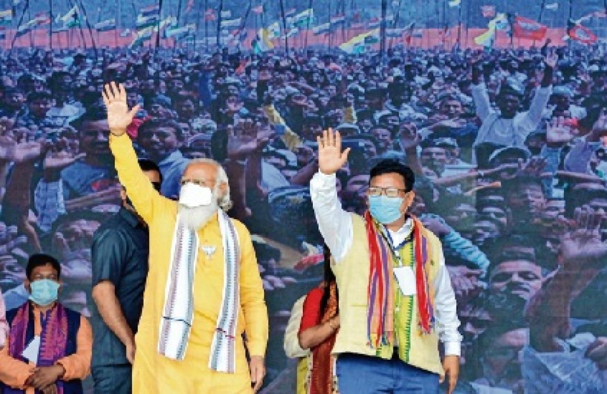 Join mainstream: Modi to rebels