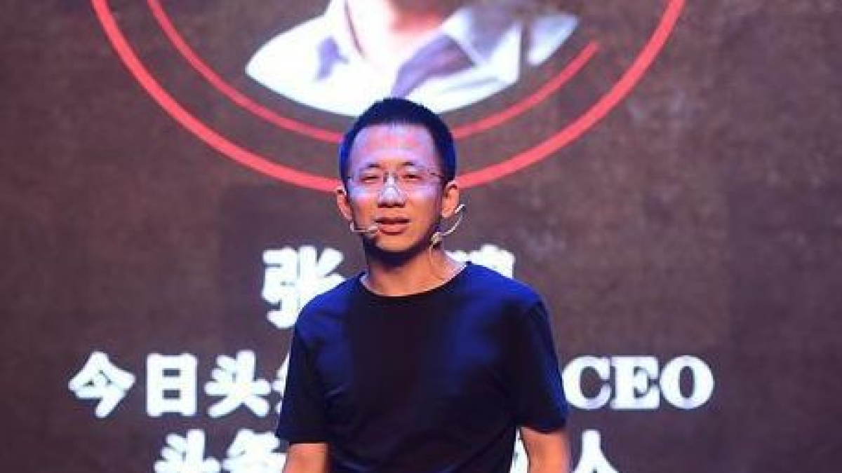 TikTok's Zhang Yiming among the world's richest, not far from Pinduoduo's Colin Huang and Alibaba's Jack Ma in case of fortune