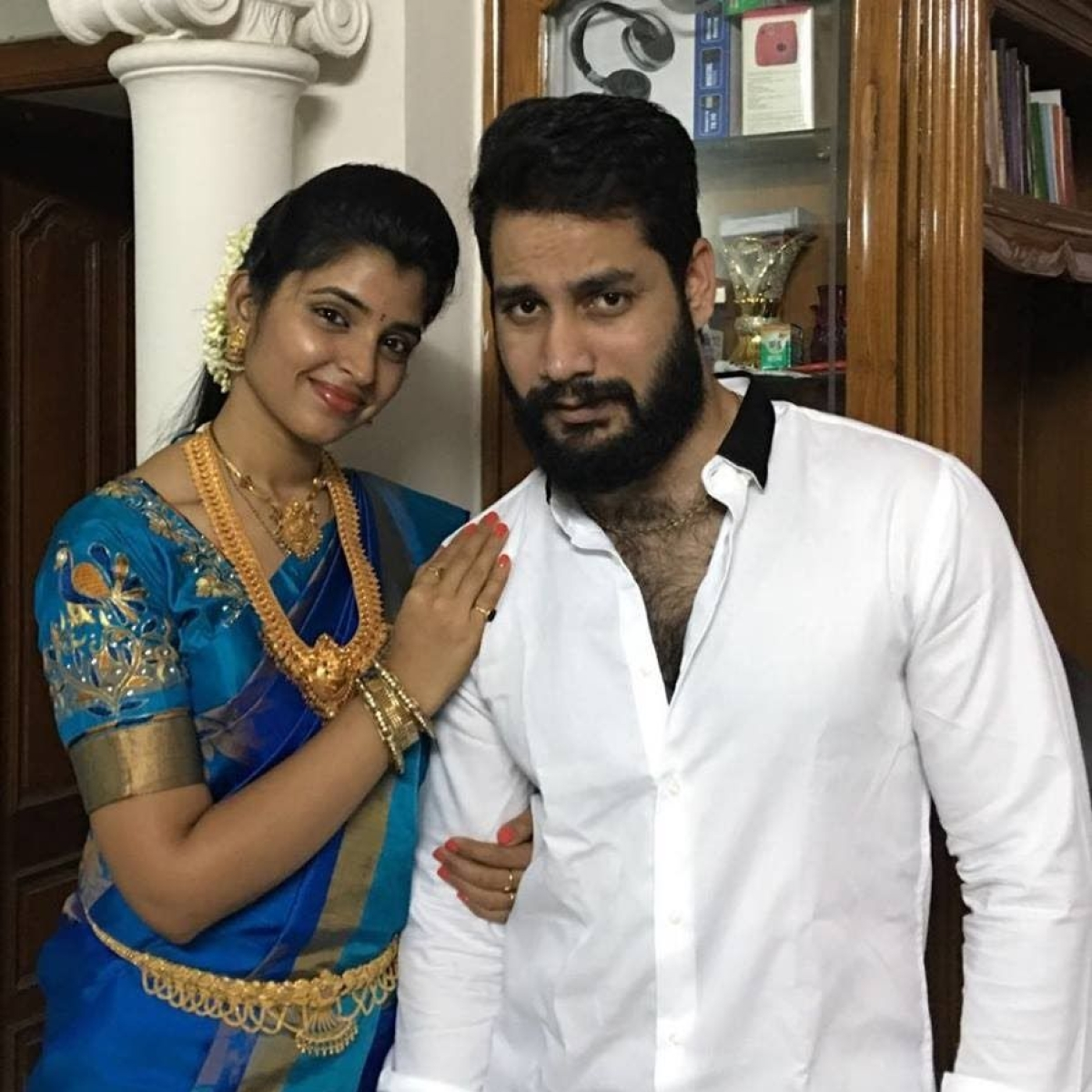 TV anchor Shyamala's husband Lakshmi Narasimha Reddy arrested for cheating businesswoman