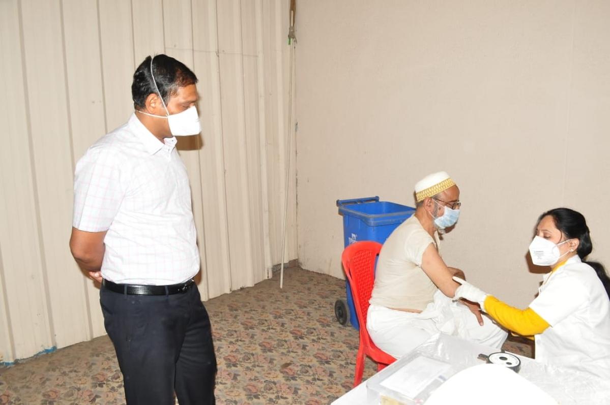 Mumbai: 64k persons jabbed in city