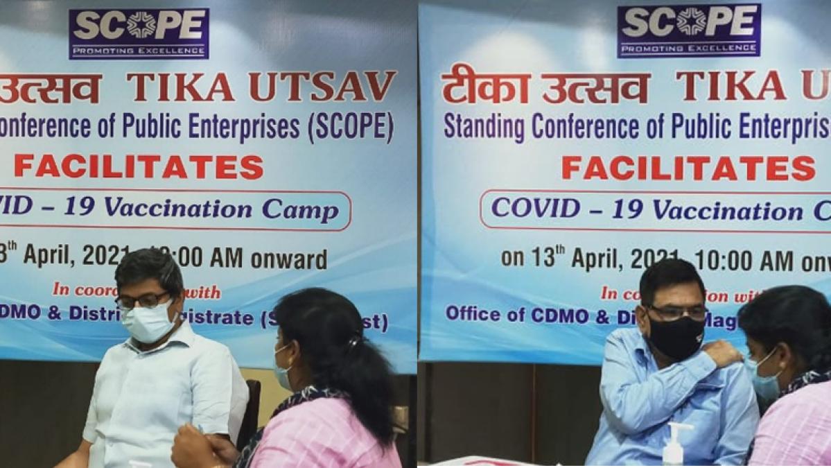 SCOPE organizes 'Tika Utsav' – Covid-19 Vaccination Drive