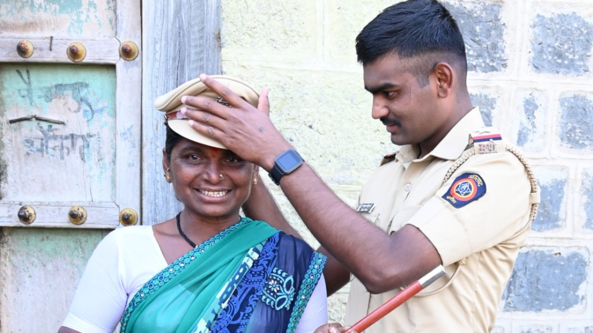 VIRAL: Son joins Police force, shares emotional picture with his proud mother