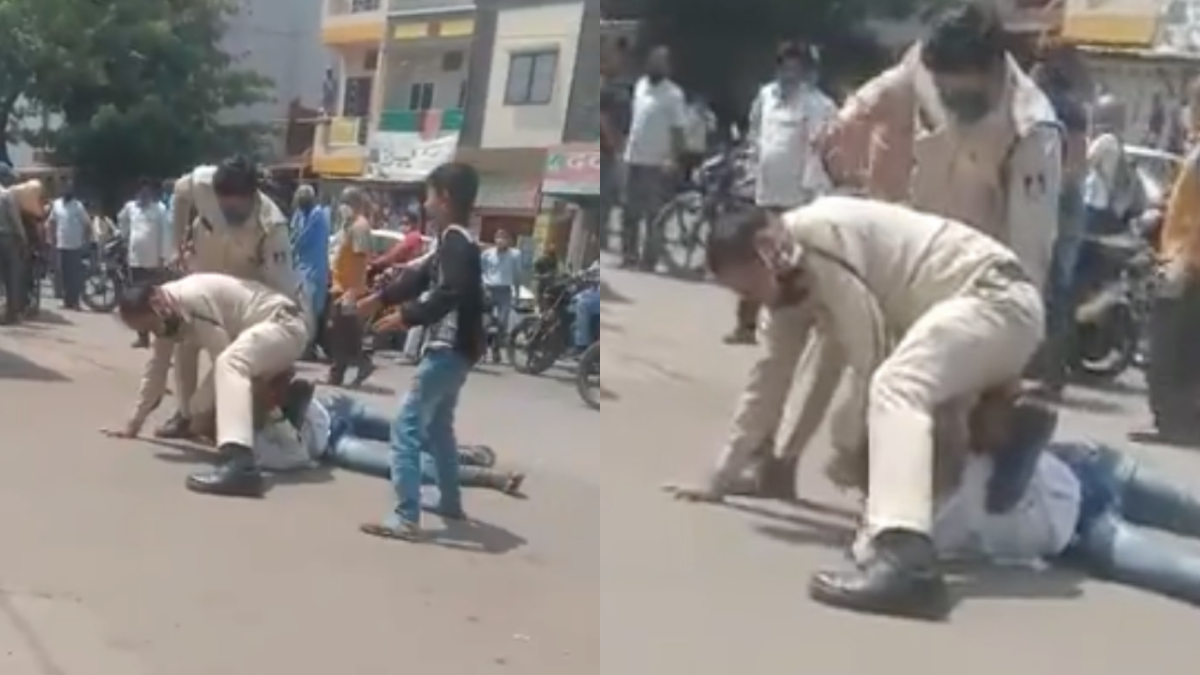 India's George Floyd moment? Police brutality on Indore's streets leaves netizens fuming