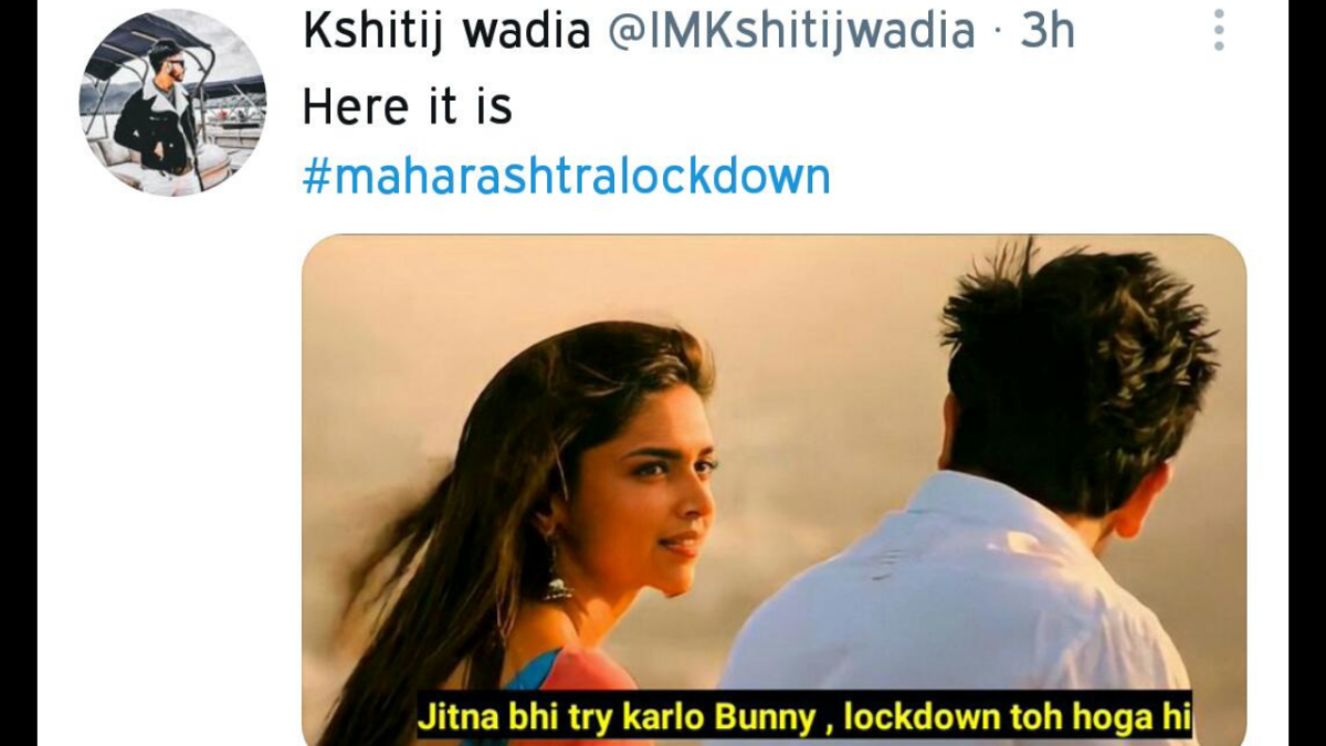 Worried about #MaharashtraLockdown? Twitterati have some hilarious memes for you