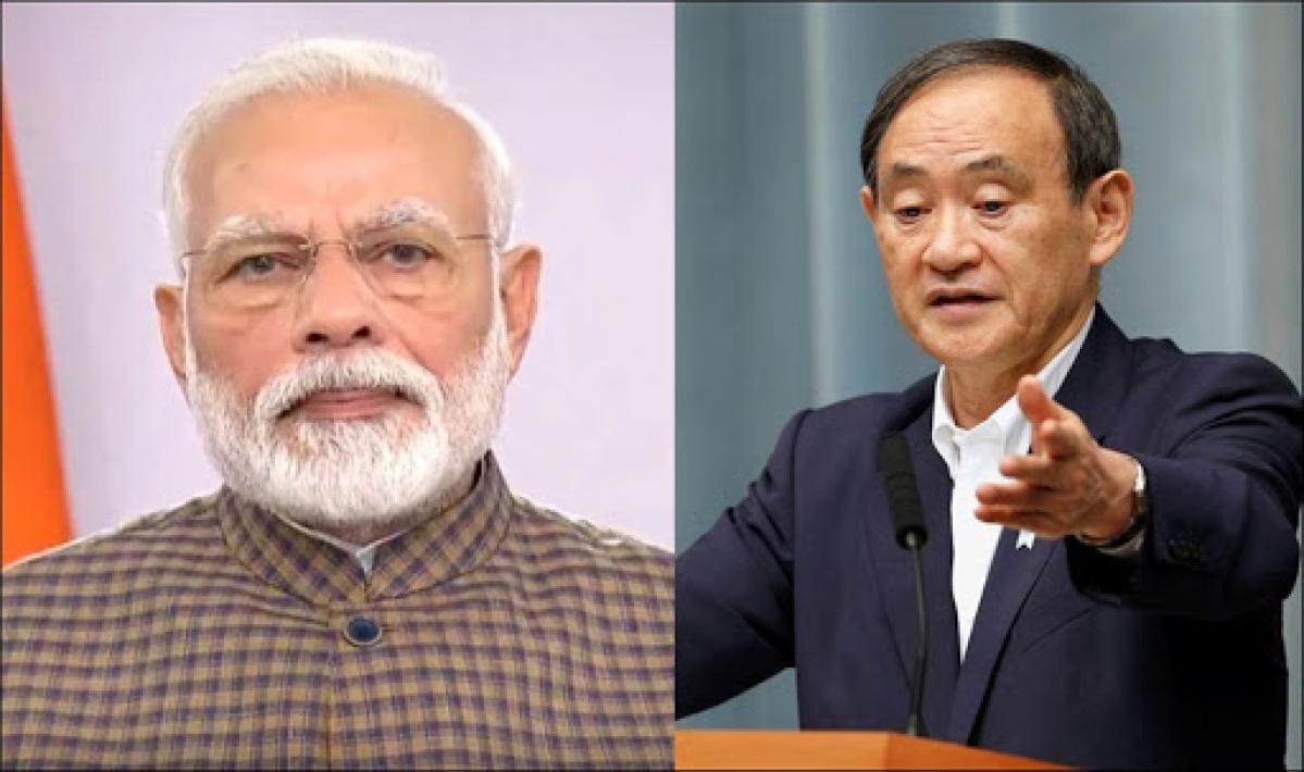PM Modi discusses COVID-19, bilateral initiatives with Japan's Yoshihide Suga
