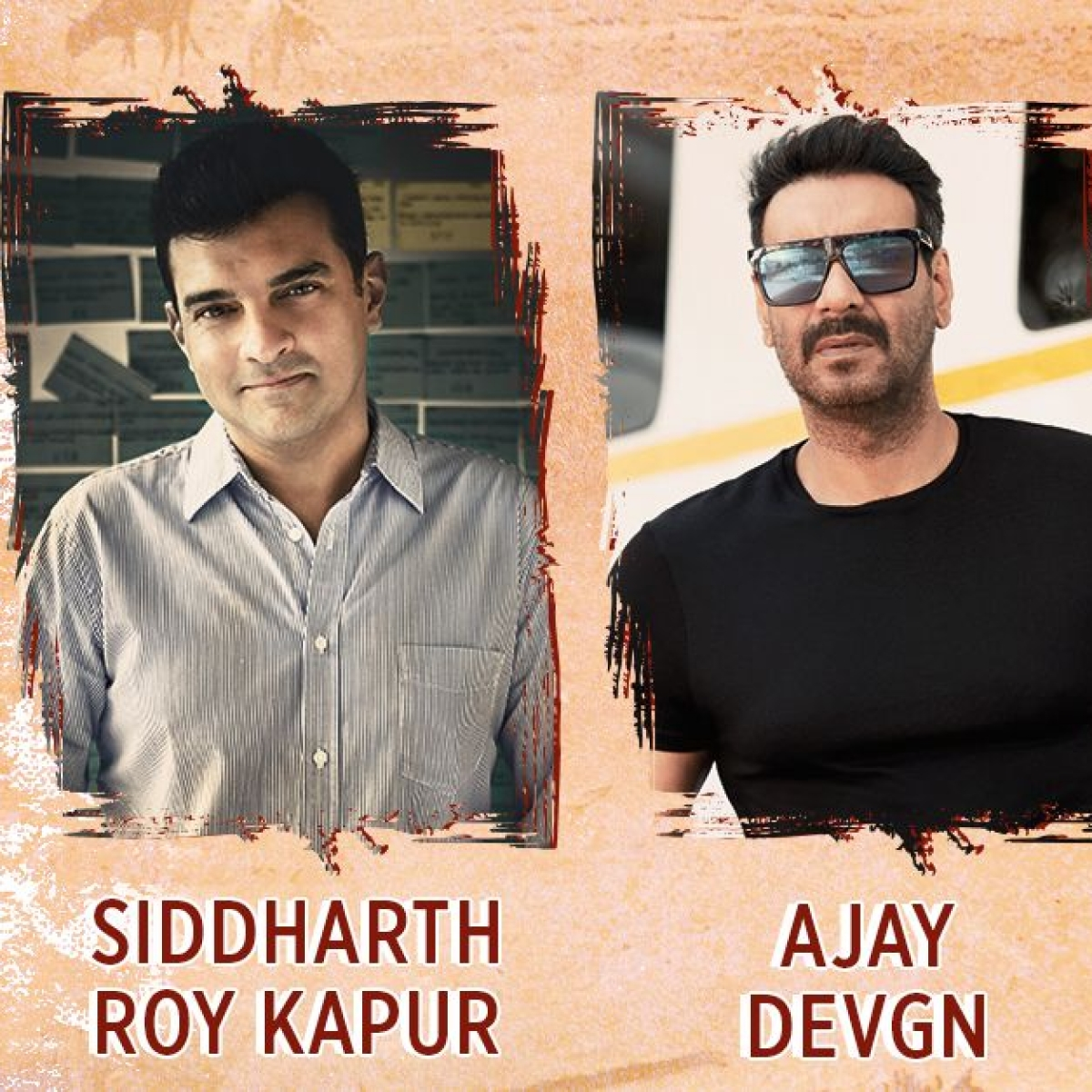 Ajay Devgn collaborates with Siddharth Roy Kapur for a comedy-drama titled 'GOBAR!'