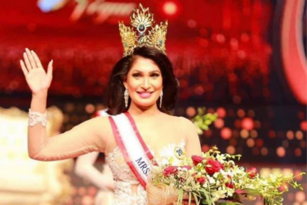 Watch video: Mrs Sri Lanka winner  Pushpika De Silva 'crowned, uncrowned, crowned' over divorce claim