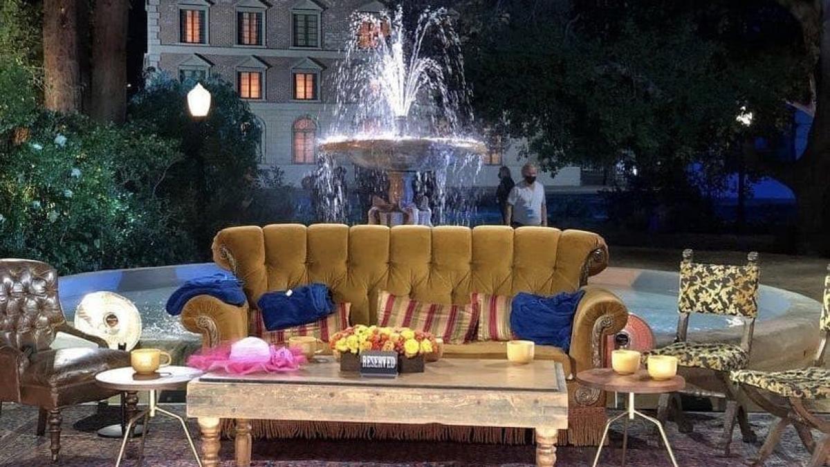 'Friends reunion' to use original stage, fountain for the nostalgic sequel