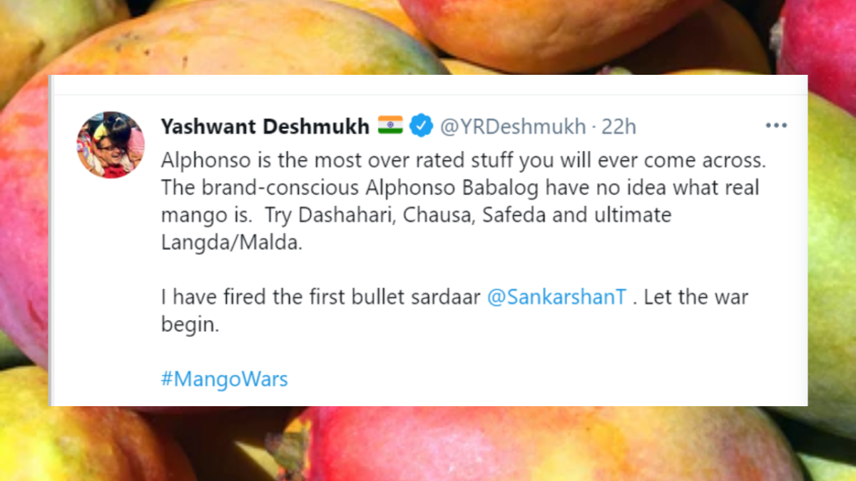 Twitterati turn soldiers for #MangoWars; which variety will get the throne?