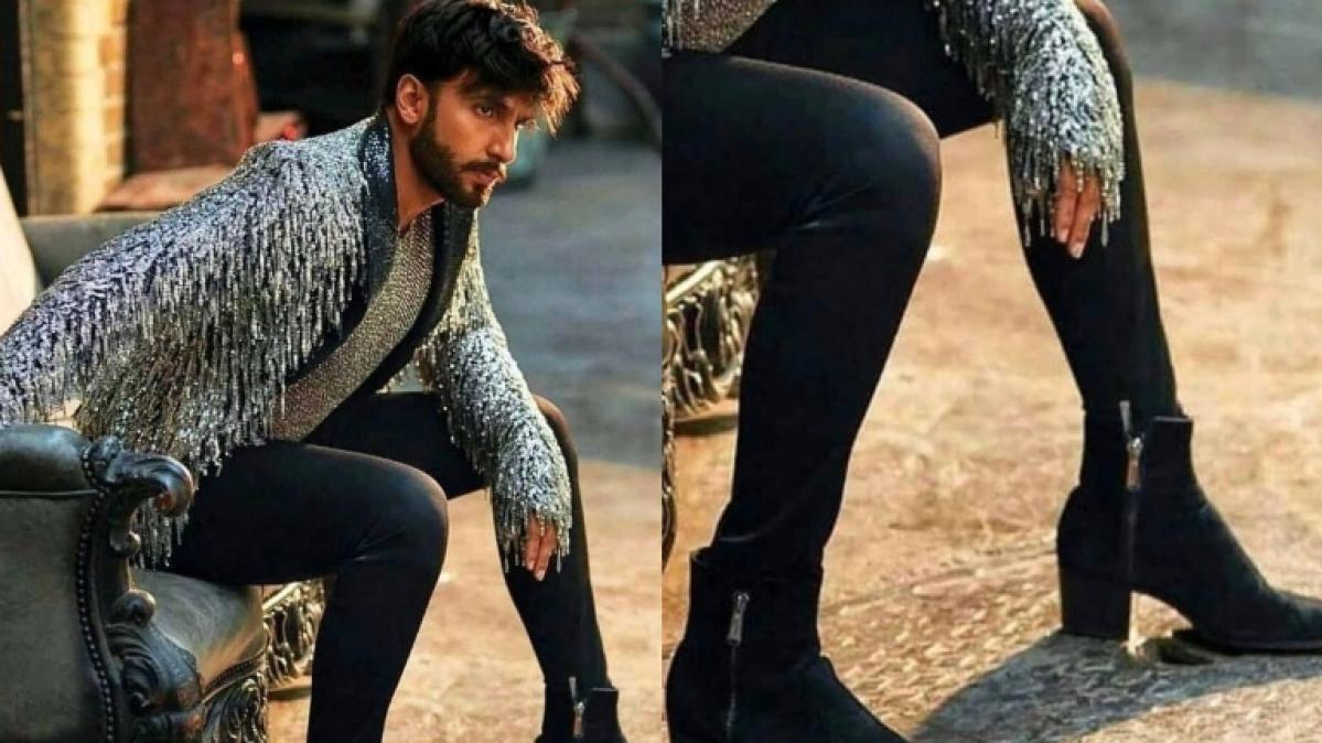 Ranveer Singh's heels lead to Twitter meltdown