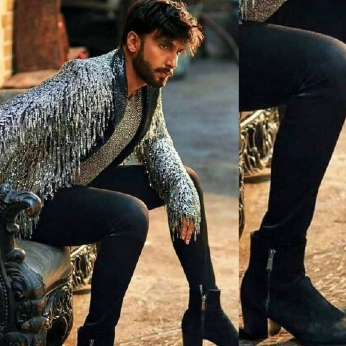 'Going to go Caitlyn Jenner way': Transphobic trolls attack Ranveer Singh for wearing heels as old pic goes viral