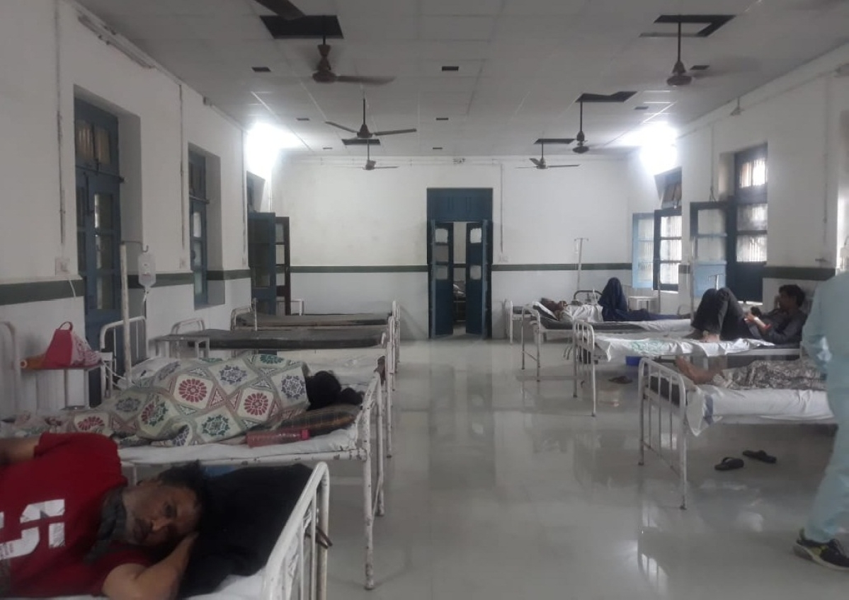 Madhya Pradesh: Isolation ward set up in Jaora civil hospital for corona patients