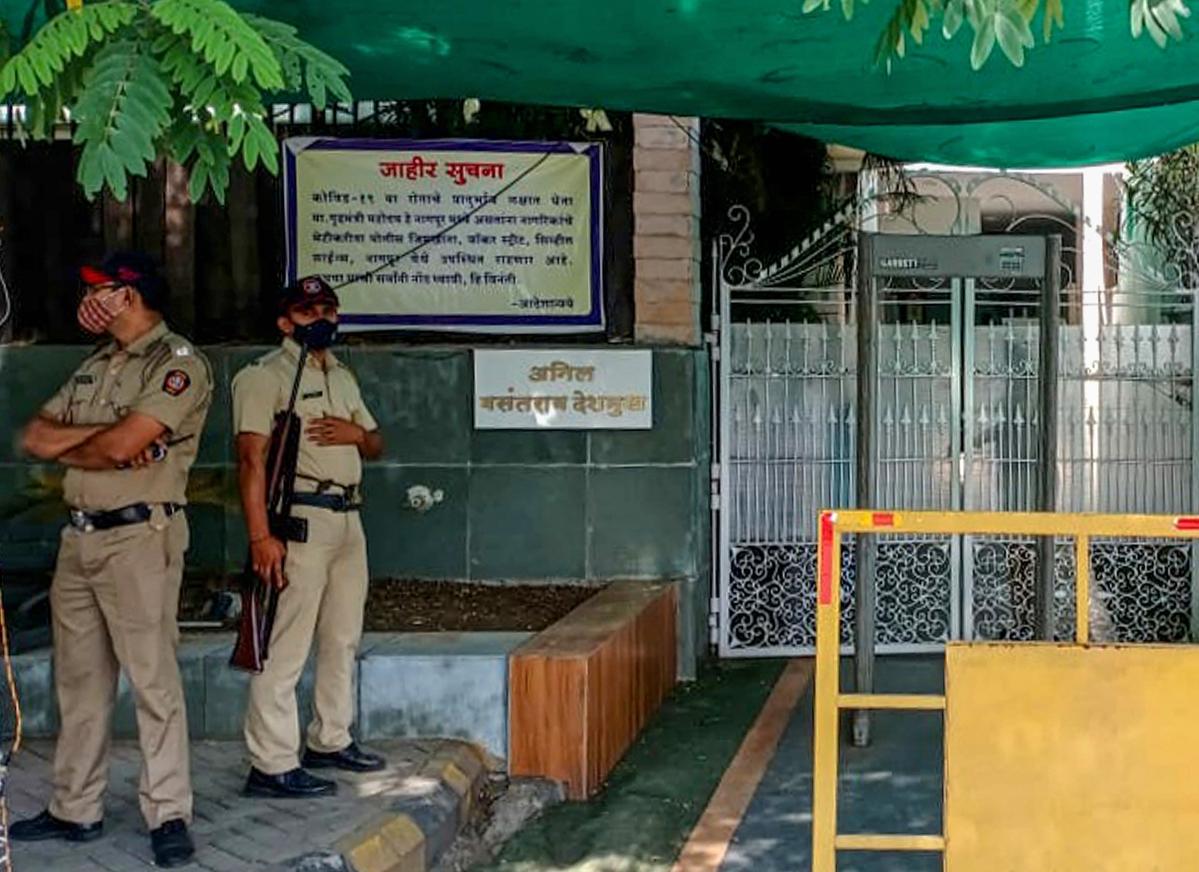CBI registers FIR against ex-Maharashtra HM Anil Deshmukh, raids his houses