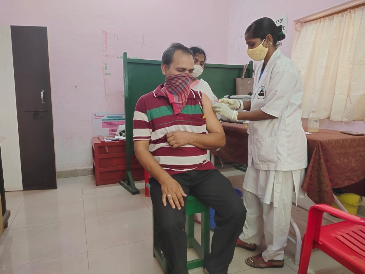 More than 9,653 persons on SWR vaccinated against Covid-19