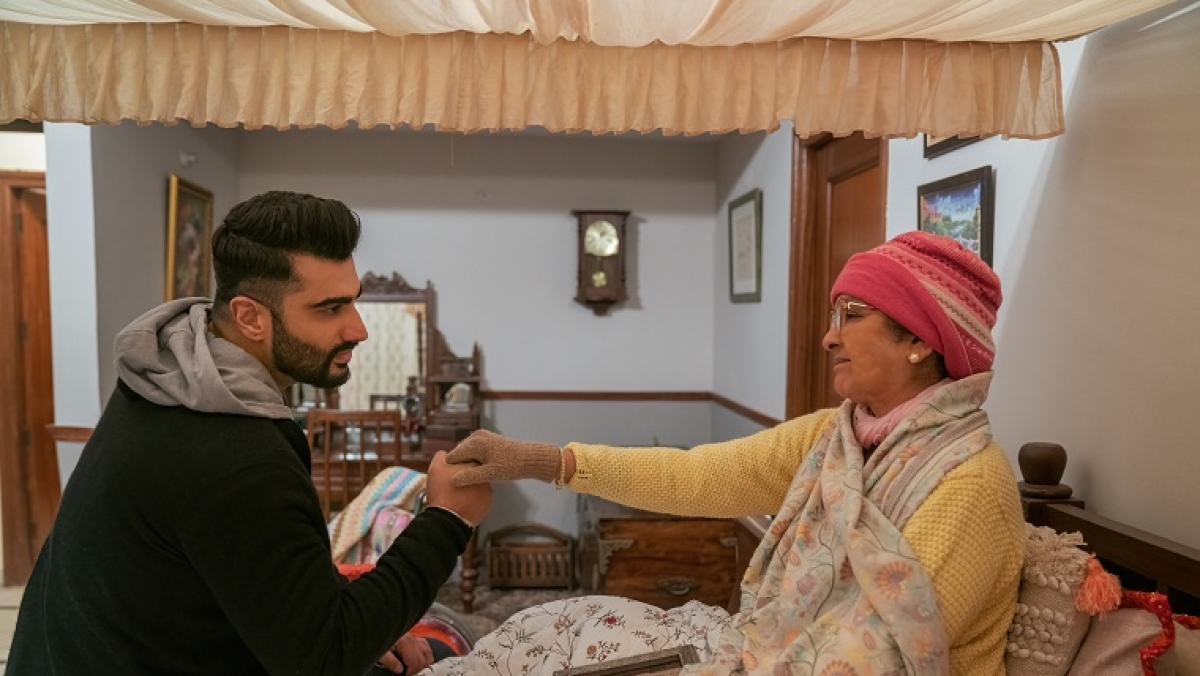 Netflix's Arjun Kapoor and Neena Gupta-starrer, 'Sardar Ka Grandson,' promises to be a family entertainer