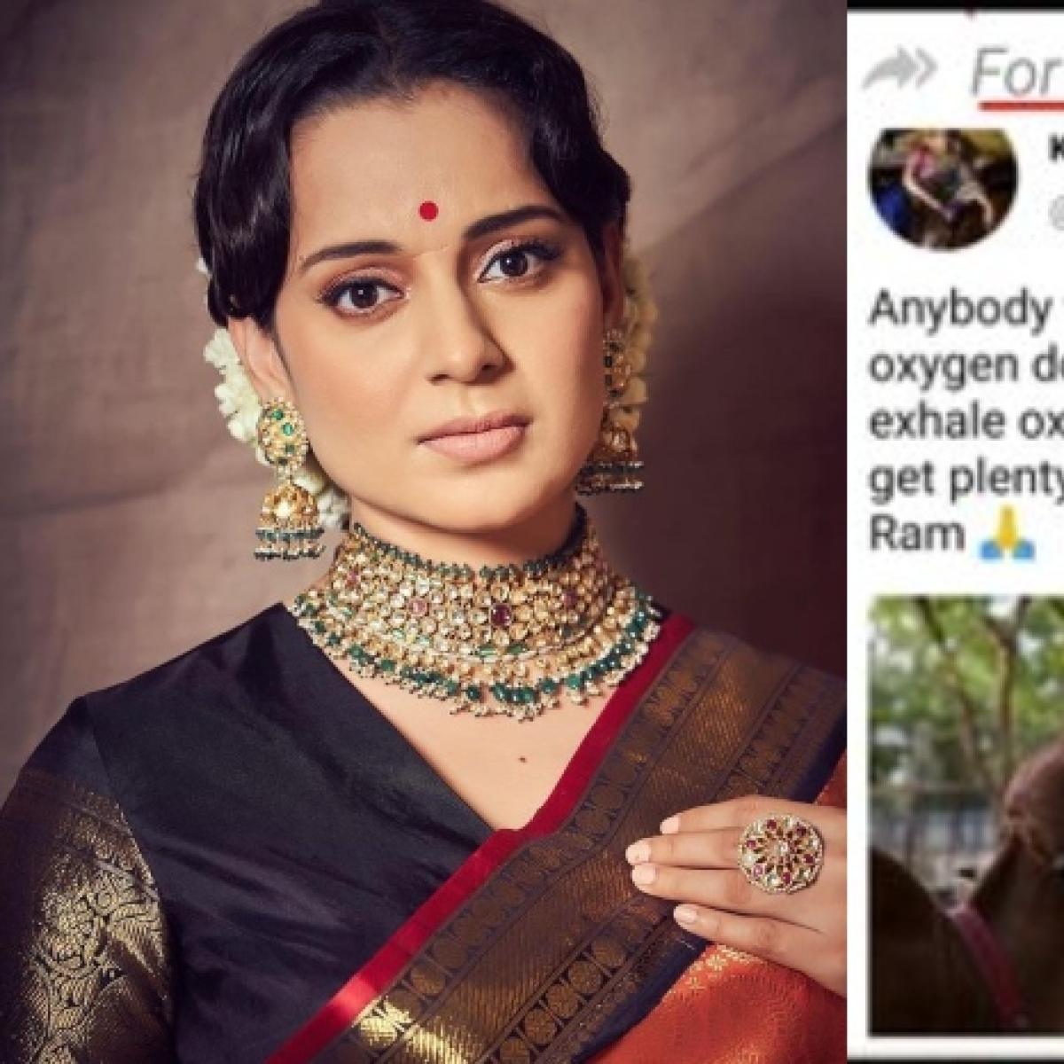 Kangana Ranaut lambasts those sharing fake tweets, says 'reminds me of one of Modi ji's campaigns'