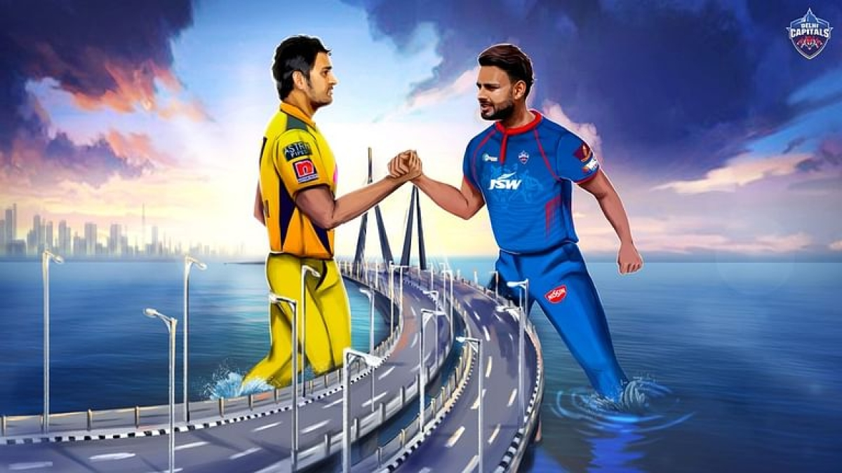 Rishabh Pant's Delhi Capitals squared off against MS Dhoni's Chennai Super Kings at Wankhede Stadium in Mumbai