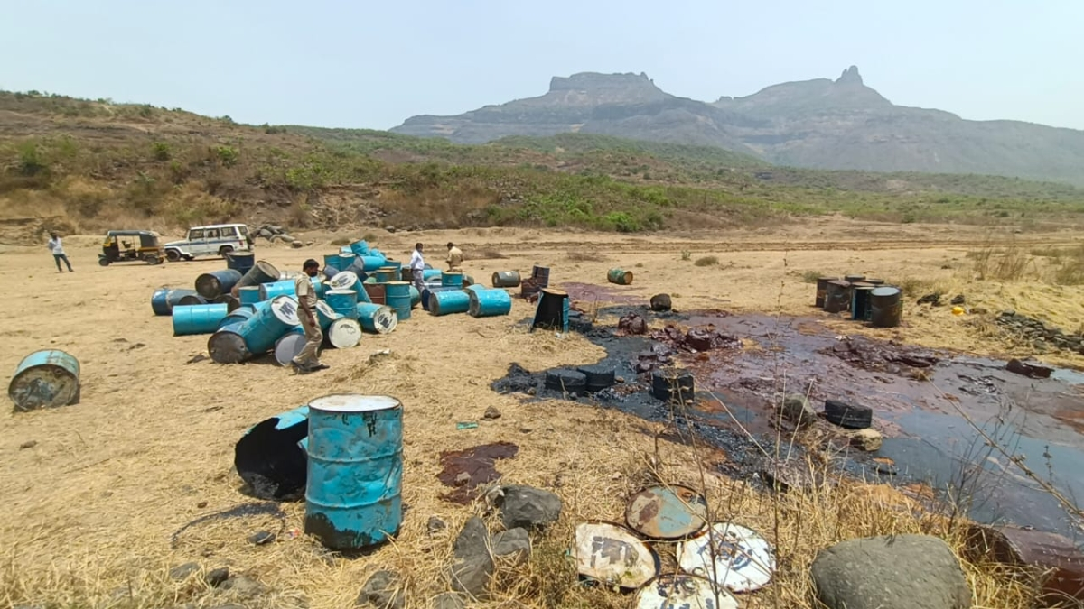 Ambernath: Four held for destroying 125 chemical drums