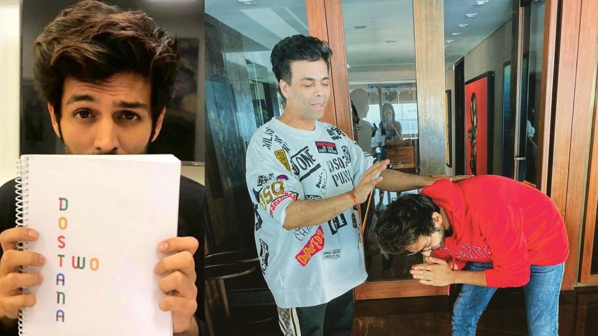 Kartik Aaryan sacked from 'Dostana 2' due to 'unprofessional behaviour': Report