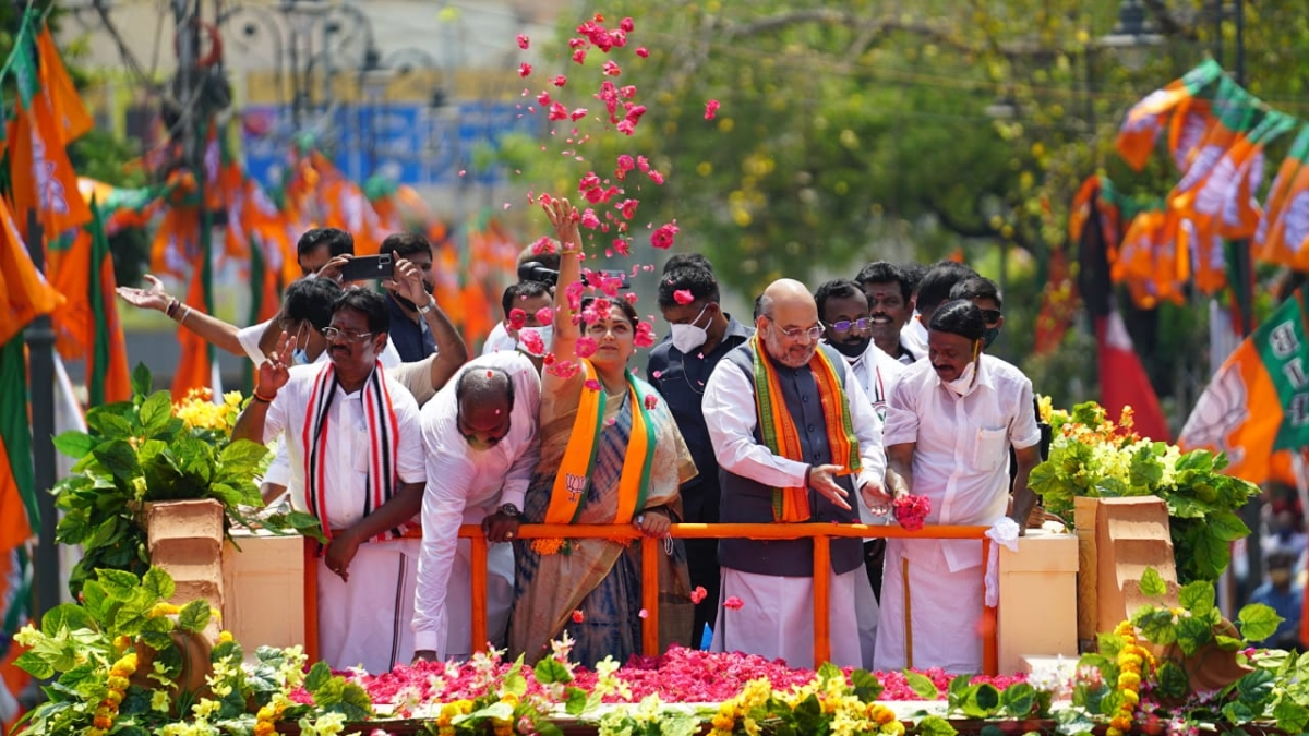 Tamil Nadu Assembly Election 2021: Amit Shah terms DMK-Congress alliance as 'dynastic and corrupt'