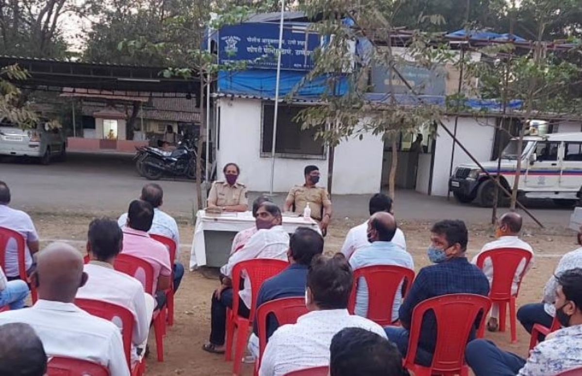 COVID-19 in Thane: Police chair meeting with protestors; make them understand difference between 'essential's shops and normal shops'
