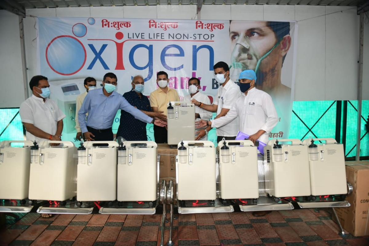 Bhopal: Sarokar's oxygen bank with 40 concentrators