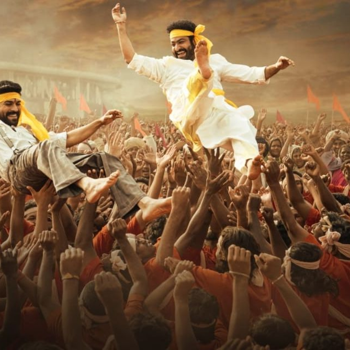 Makers of 'RRR' launch a new poster on the occasion of Gudi Padwa, Baisakhi