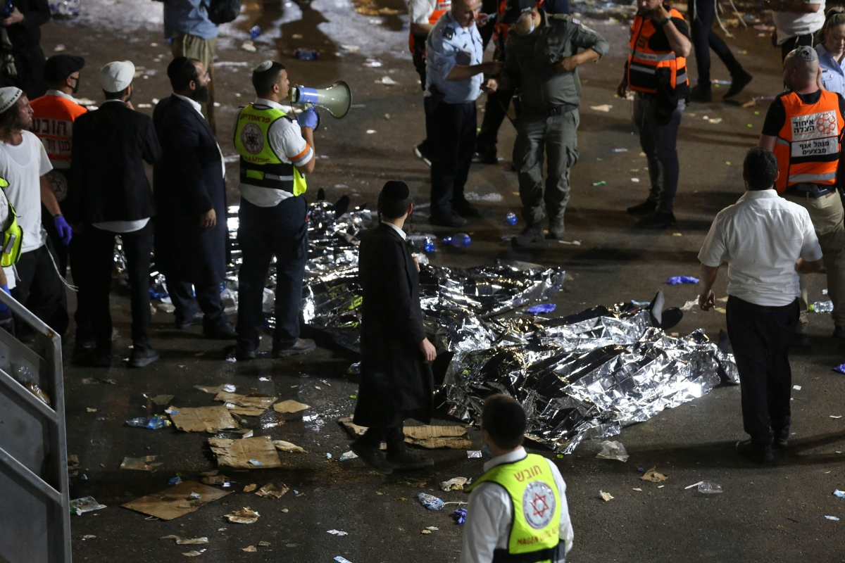 44 killed, over 100 injured in stampede at religious festival in Israel