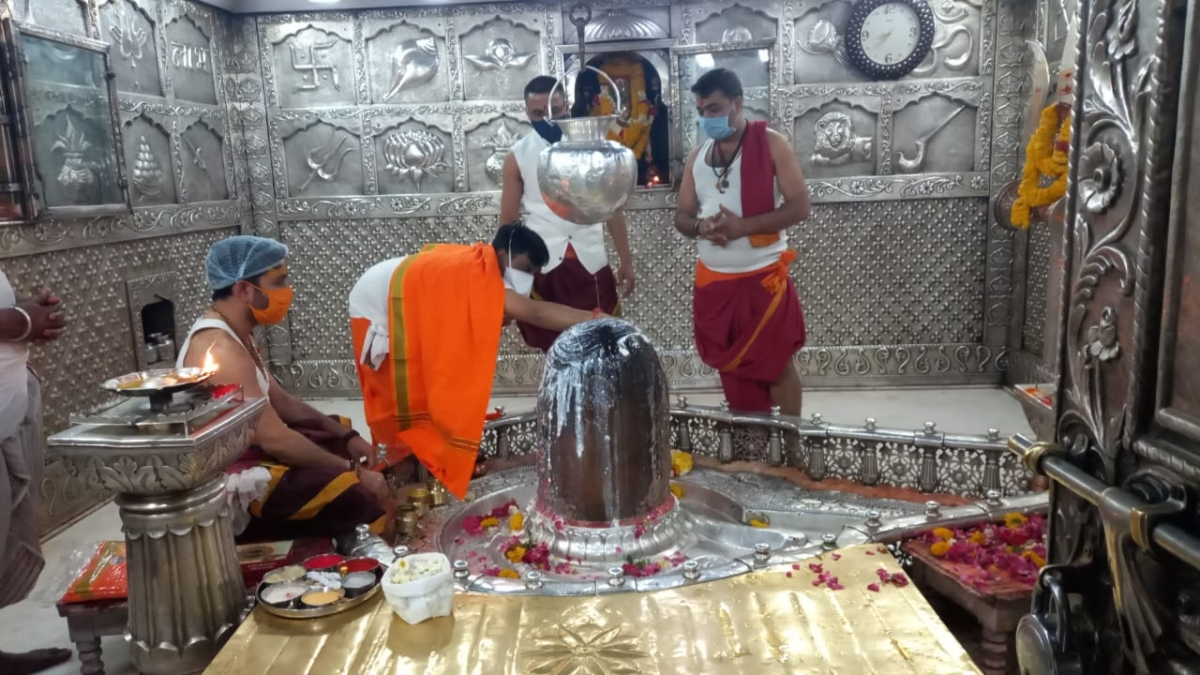 It began with worship of Lord Mahakal in Ujjain on Friday