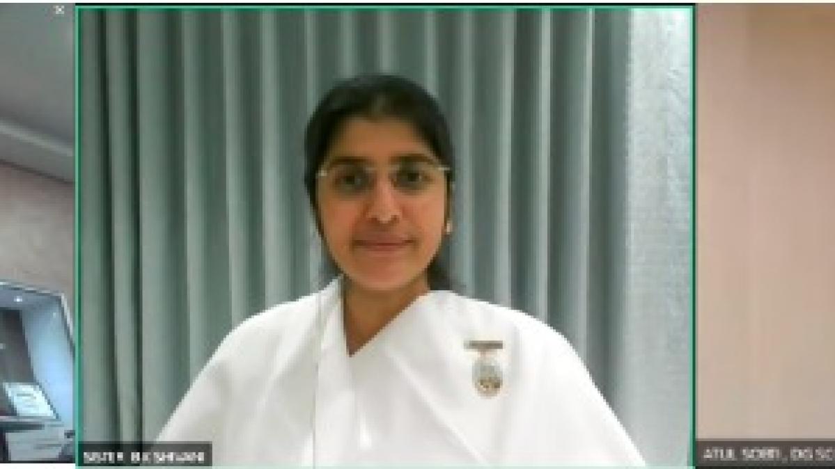 Sister BK Shivani emphasises need for Emotional immunity in SCOPE webinar