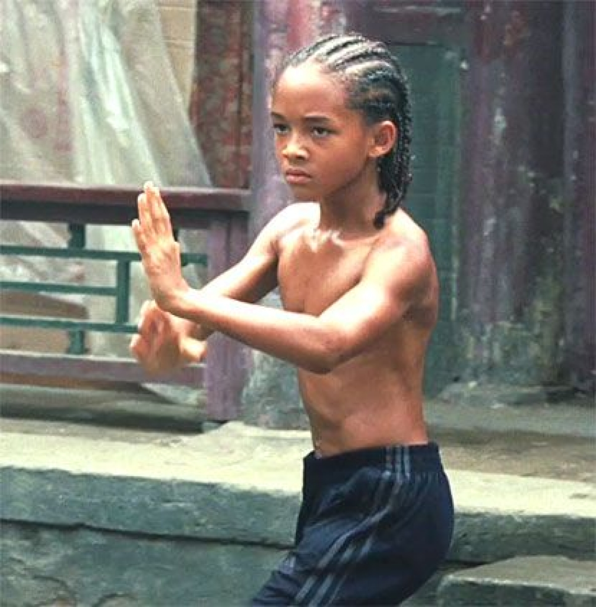 Masaba Gupta shares childhood pics in natural hair, netizens ask if she was in Jaden Smith's 'Karate Kid'