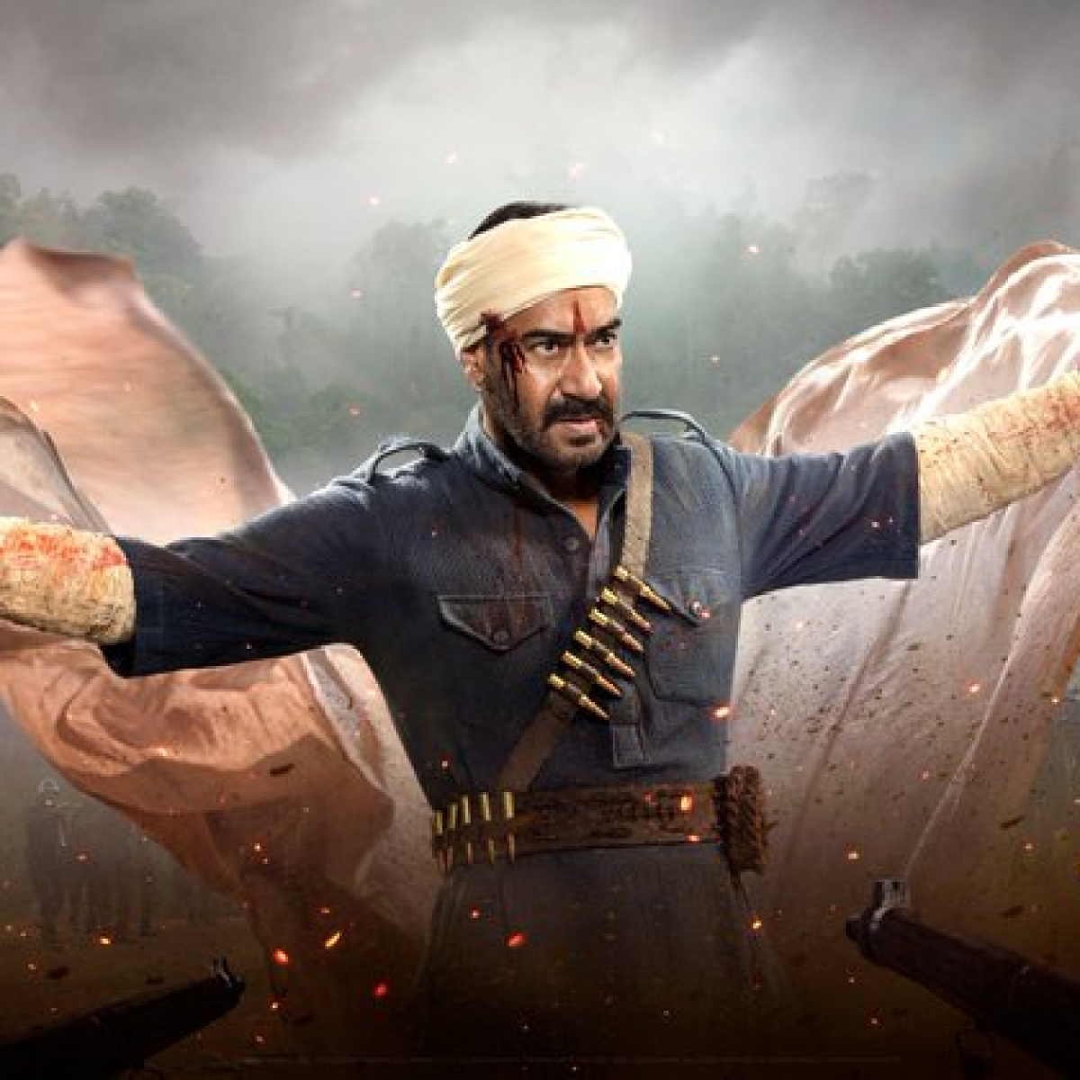 Makers of 'RRR' drop powerful motion poster featuring Ajay Devgn on his birthday