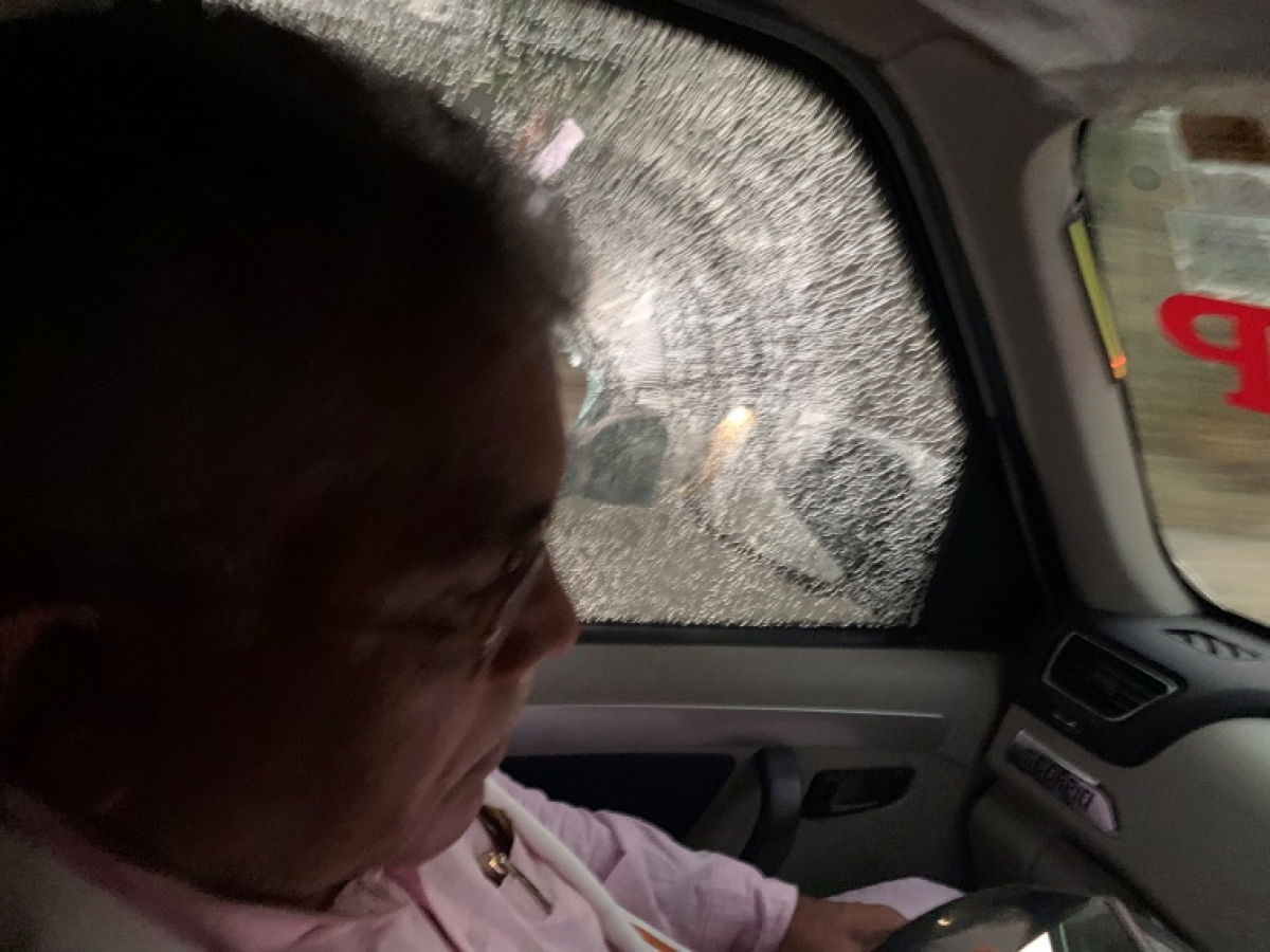West Bengal polls: State BJP chief Dilip Ghosh's convoy attacked; party demands arrest of Mamata Banerjee