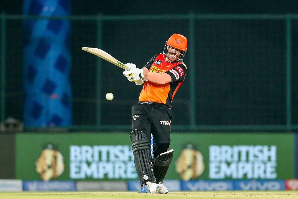 SRH skipper David Warner becomes first batsman to smash 50th fifty in IPL, completes 200 sixes