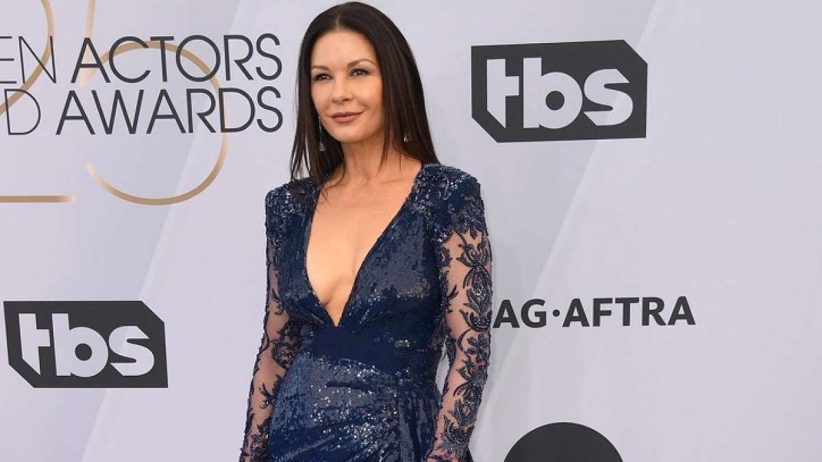 'Was lovely having my family home amid pandemic,' says Catherine Zeta-Jones