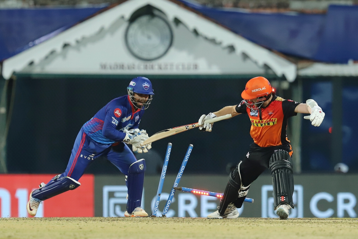 IPL 2021: Check out the points table after Delhi Capitals vs SunRisers Hyderabad clash