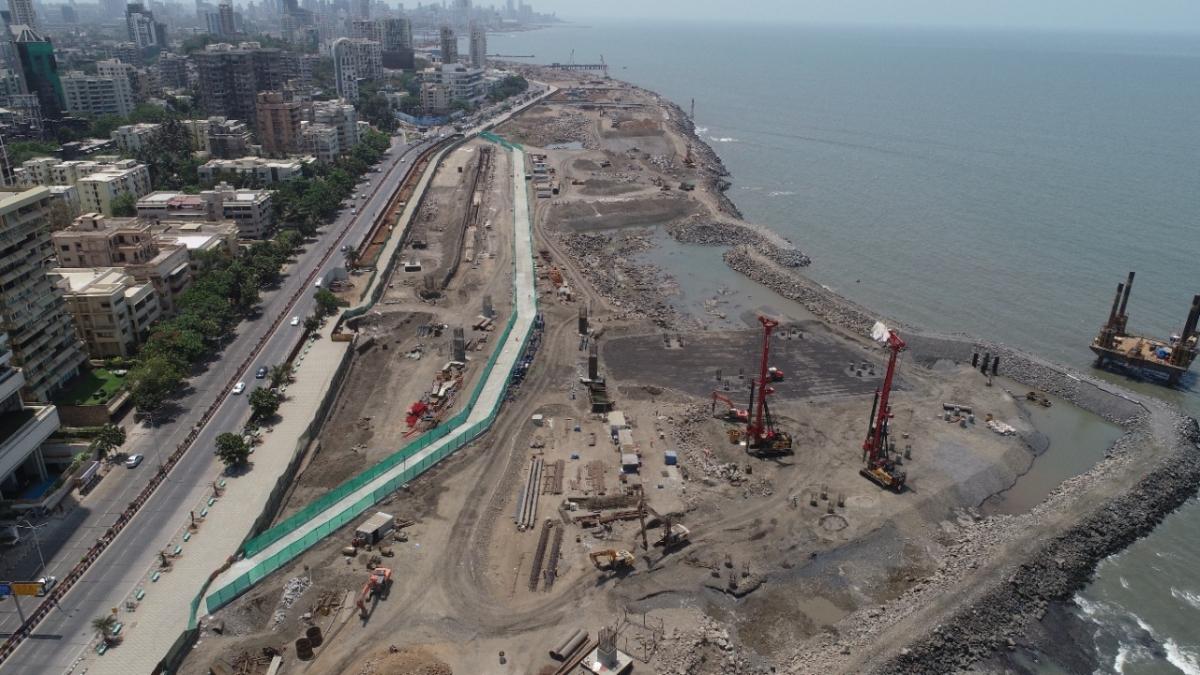 Mumbai: BMC razes Worli promenade for city's coastal road project