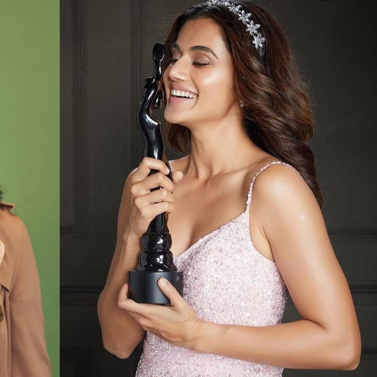 Kangana Ranaut reacts to 'sasti copy' Taapse Pannu's Filmfare award-winning speech thanking her