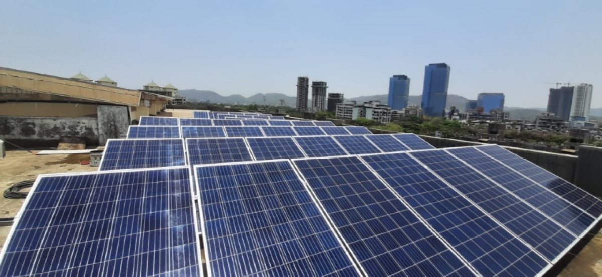 Navi Mumbai: NMMC school in Ghansoli lit up with solar energy, saves power bill upto 50 percent