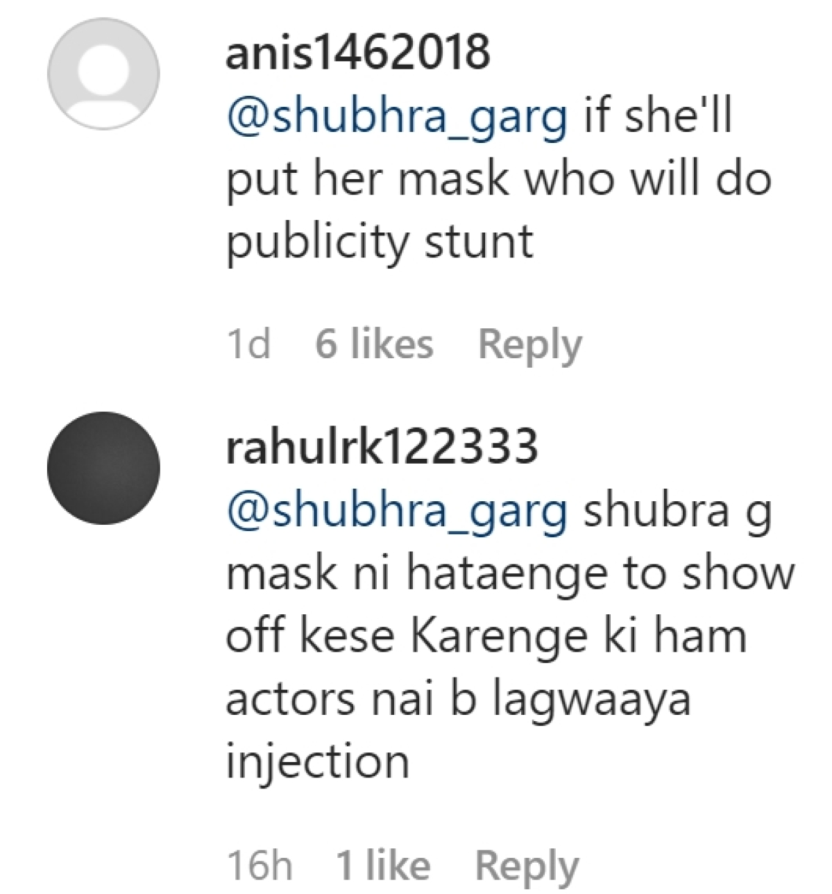 'Put your mask': Netizens react to Divya Khosla Kumar getting her first dose of Covid-19 vaccine - watch video